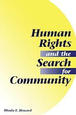 Human Rights And The Search For Community