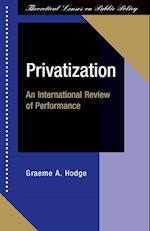 Privatization (Theoretical Lenses on Public Policy)