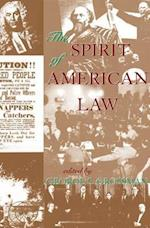 The Spirit of American Law