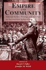 Empire and Community af Jennifer M Welsh, David P Fidler, Edmund Burke