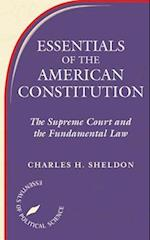 Essentials of the American Constitution (Essentials of Political Science)