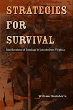 Strategies for Survival (Carter G. Woodson Institute Series)