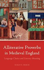 Alliterative Proverbs in Medieval England