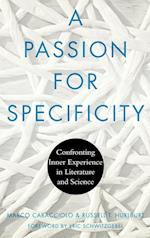 A Passion for Specificity (Cognitive Studies in Culture)
