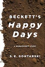 Beckett's Happy Days
