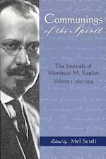 Communings of the Spirit af Mordecai M. Kaplan