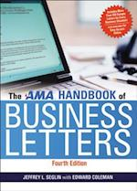The AMA Handbook of Business Letters af Edward Coleman