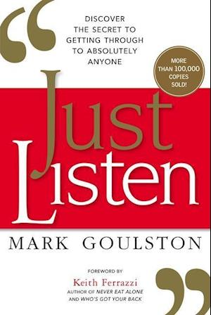 Bog, paperback Just Listen af Mark Goulston