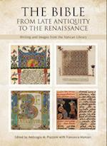 The Bible from Late Antiquity to the Renaissance