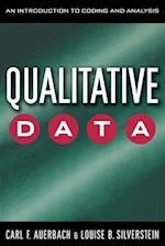 Qualitative Data af Carl Auerbach, Louise B. Silverstein