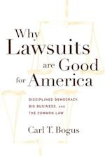 Why Lawsuits are Good for America (Critical America Series)