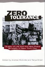 Zero Tolerance af Tanya Erzen