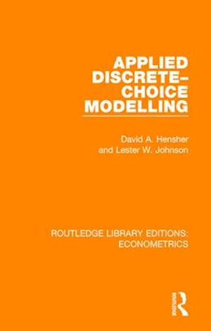 Applied Discrete-Choice Modelling