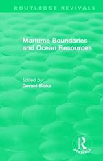 : Maritime Boundaries and Ocean Resources (1987) (Routledge Revivals)