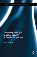 Developing the Right to Social Security - A Gender Perspective (Routledge Research in Human Rights Law)