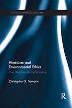 Hinduism and Environmental Ethics (Routledge Hindu Studies Series)