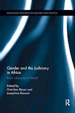 Gender and the Judiciary in Africa (Routledge Research in Gender and Politics)