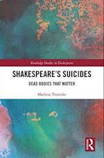 Shakespeare's Suicides (Routledge Studies in Shakespeare)