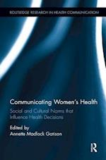 Communicating Women's Health