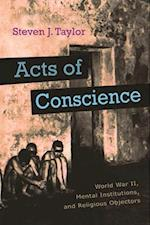 Acts of Conscience (Critical Perspectives on Disability)