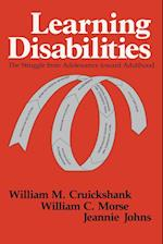 Learning Disabilites af William C. Morse, Jeanniw Johns, William M. Cruickshank