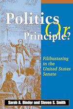 Politics or Principle?