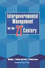 Intergovernmental Management for the Twenty-First Century
