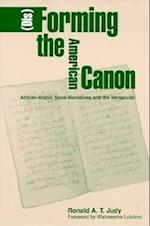 (Dis)forming the American Canon