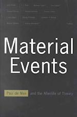 Material Events af Andrzej Warminski, Barbara Cohen