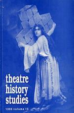 Theatre History Studies 1995, Vol. 15