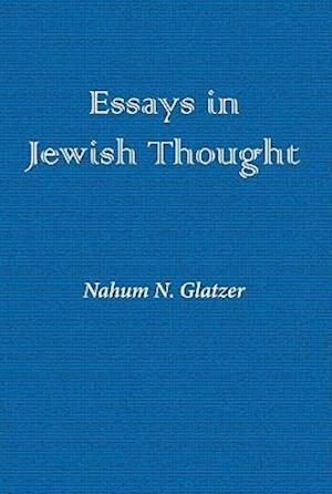 Essays in Jewish Thought