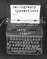 Calligraphy Typewriters (Modern Contemporary Poetics)