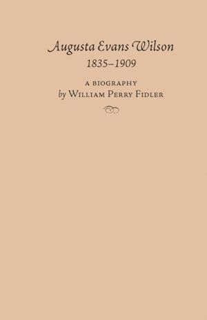 Augusta Evans Wilson, 1835-1909 af William Fidler