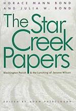 Star Creek Papers af Horace Mann Bond