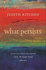 What Persists (Georgia Review Books)