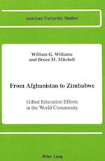 From Afghanistan to Zimbabwe (American University Studies, nr. 18)