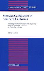 Mexican Catholicism in Southern California (American University Studies, nr. 139)