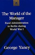 The World of the Manager (Martin Luther King Jr Memorial Studies in Religion Culture, nr. 11)