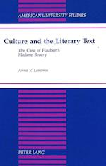Culture and the Literary Text (Studies in Ethnolinguistics, nr. 162)