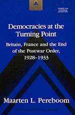Democracies at the Turning Point (Studies in Modern European History, nr. 13)