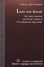 Lilies and Sesame (CURRENTS IN COMPARATIVE ROMANCE LANGUAGES AND LITERATURES, nr. 61)