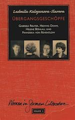 Uebergangsgeschoepfe (Women in German Literature, nr. 2)