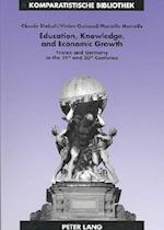 Education, Knowledge, and Economic Growth (Comparative Studies)
