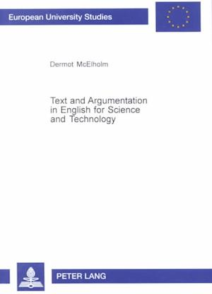 Text and Argumentation in English for Science and Technology