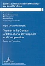 Women in the Context of International Development and Co-Operation