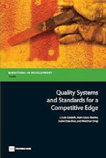 Quality Systems and Standards for a Competitive Edge af Jose Luis Guasch, Isabel Sanchez, Jean-Louis Racine