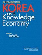 Korea as a Knowledge Economy (Wbi Development Studies)