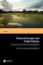 Seasonal Hunger and Public Policies af Wahiduddin Mahmud, Shahidur R. Khandker, Shahidur R