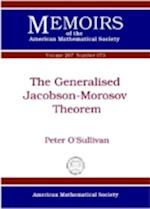 The Generalised Jacobson-Morosov Theorem (Memoirs of the American Mathematical Society, nr. 207)