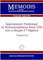 Approximate Homotopy of Homomorphisms from Cx into a Simple C*-algebra (Memoirs of the American Mathematical Society, nr. 205)